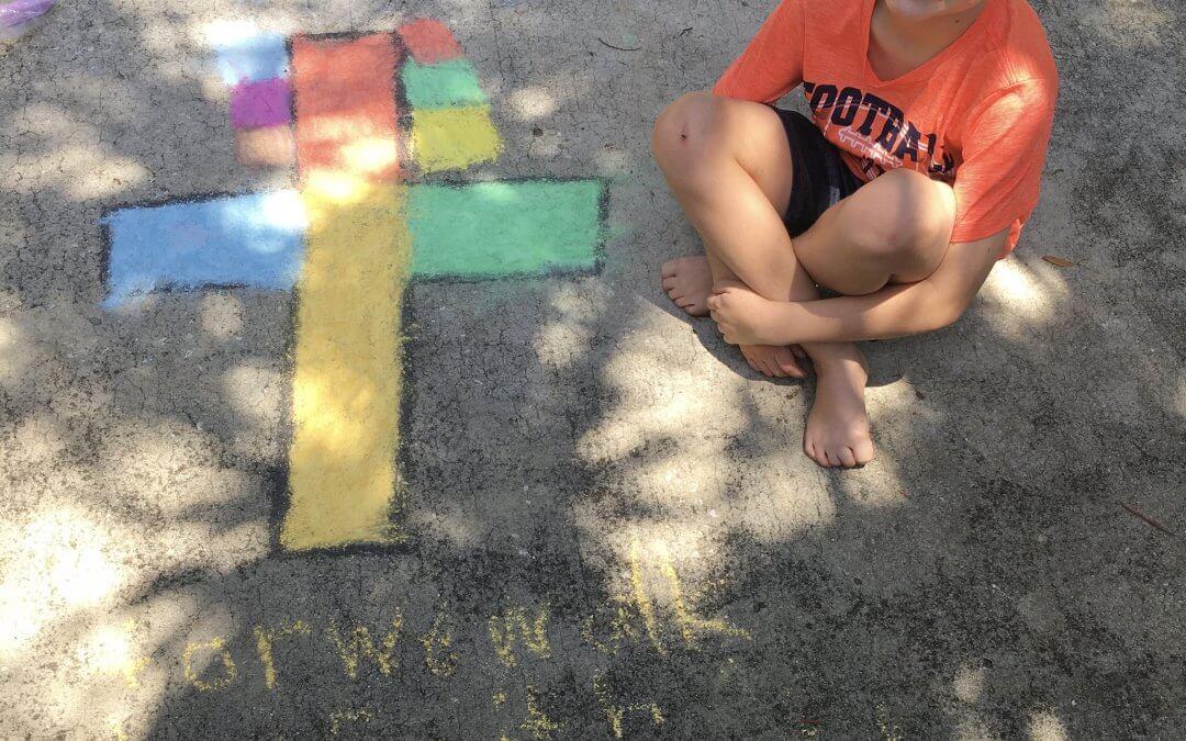 Sidewalk Chalk Challenge
